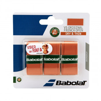 BABOLAT GRIP VS ORIGINAL RG x 3 clay