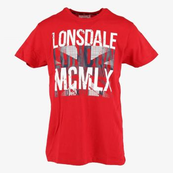 LONSDALE LNSD FLAG S19 TEE