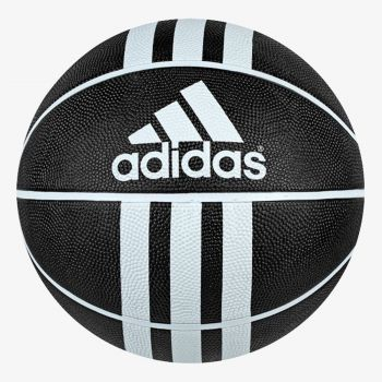 ADIDAS 3 STRIPES RUBBER BASKETBALL