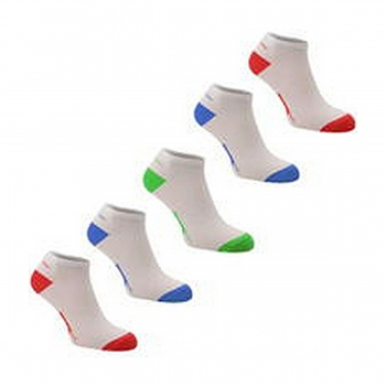 5PK TRAINER SOCK 00 BRIGHT ASST JUNIOR 1
