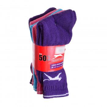 SLAZENGER Slaz 5PK Crew Sock Ld00