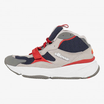 ELLESSE AURANO MID SUED AM GRY/BLU/RED