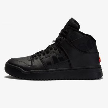 ELLESSE ASSIST HI LTHR AM BLK/BLK/BLK