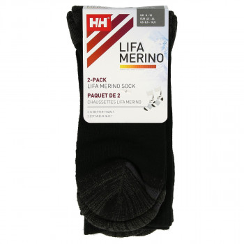 HELLY HANSEN HH LIFA MERINO 2-PACK SOCKS