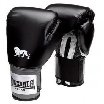 LONSDALE LONSDALE PRO TRAIN GLV BLACK 16OZ