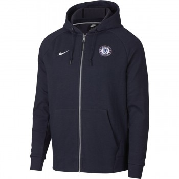 NIKE CFC M NSW HOODIE FZ OPTIC