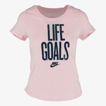 NIKE G NSW TEE SCOOP LIFE GOALS