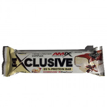 AMIX Exclusive Protein Bar 85g white chocolat