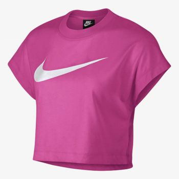 NIKE W NSW SWSH TOP CROP SS