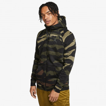NIKE M J JUMPMAN FLEECE CAMO FZ