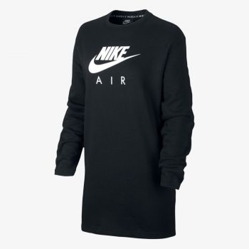 NIKE W NSW AIR CREW DRESS BB FLC