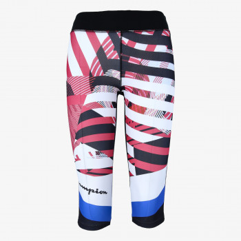 CHAMPION GYM PRINTED 3/4 LEGGINGS