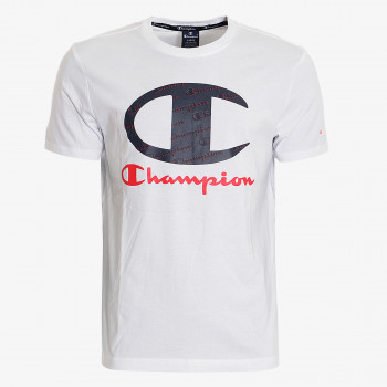 CHAMPION ALL OVER LOGO T-SHIRT
