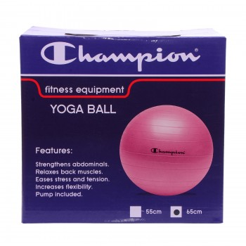 CHAMPION CHAMPION YOGA BALL PINK