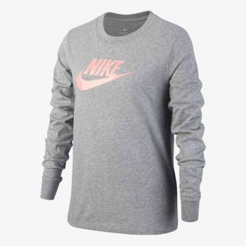 NIKE G NSW TEE LS ESSNT FUTURA HOOK