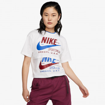 NIKE W NSW ICN CLSH SS TOP