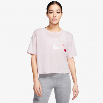 NIKE W NK S/S TOP GX ICNCLSH WOW