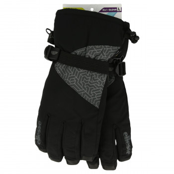 ELLESSE Ellesse 3 in1 ski glove Women Black XS