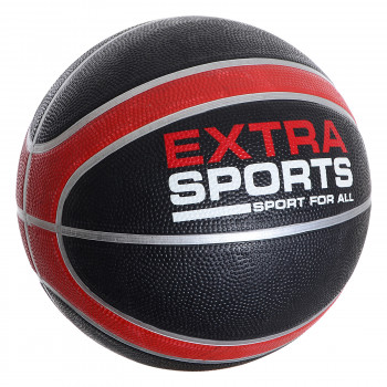 EXTRA SPORT RUBBER BASKETBALL  Black 7