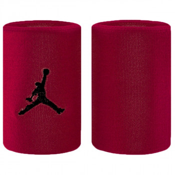 NIKE JORDAN JUMPMAN WRISTBANDS GYM RED/BLACK