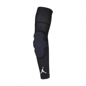 NIKE JORDAN PADDED ELBOW SLEEVE L/XL BLACK/WH