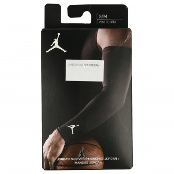 NIKE JORDAN SHOOTER SLEEVES S/M BLACK/WHITE