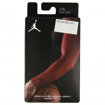 NIKE JORDAN SHOOTER SLEEVES L/XL GYM RED/BLAC
