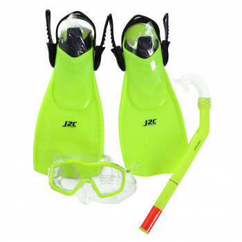 J2C SET MASK, SNORKEL AND FINS