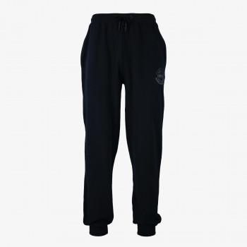 LONSDALE BLACK LOGO CF PANTS