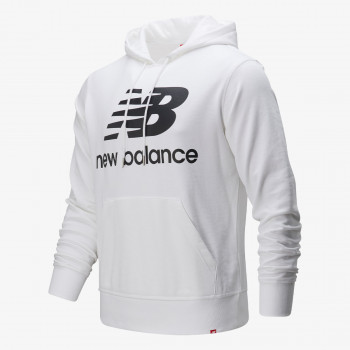 NEW BALANCE ESSENTIALS STACKED LOGO PO HOODIE