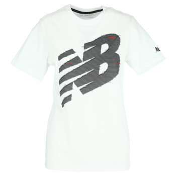 NEW BALANCE GRAPHIC HEATHERTECH T