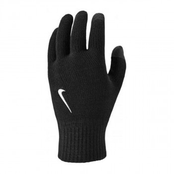 NIKE NIKE KNITTED TECH AND GRIP GLOVES BLACK/