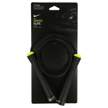NIKE NIKE FUNDAMENTAL SPEED ROPE BLACK/VOLT
