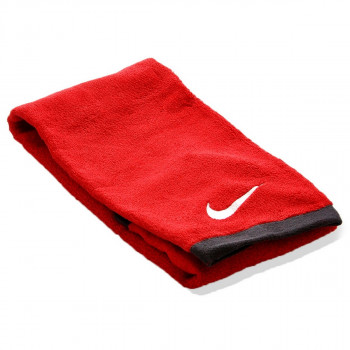 NIKE NIKE FUNDAMENTAL TOWEL M SPORT RED/WHITE
