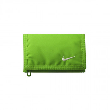 NIKE NIKE BASIC WALLET VOLTAGE GREEN/WHITE