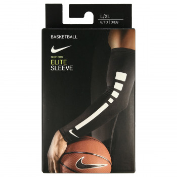 NIKE NIKE PRO ELITE SLEEVES L/XL BLACK/WHITE/
