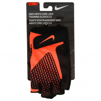 NIKE NIKE MEN'S CORE LOCK TRAINING GLOVES 2.0