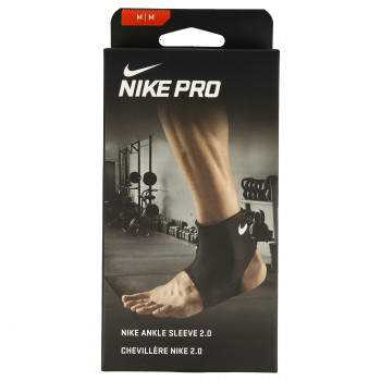 NIKE NIKE PRO ANKLE SLEEVE 2.0 M BLACK/WHITE