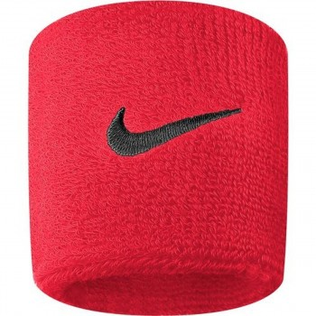 NIKE NIKE SWOOSH WRISTBANDS SIREN RED/PORT WI