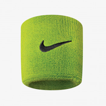 NIKE NIKE SWOOSH WRISTBANDS ATOMIC GREEN/BLAC