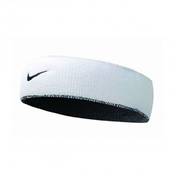 NIKE NIKE DRI-FIT HOME & AWAY HEADBAND WHITE/