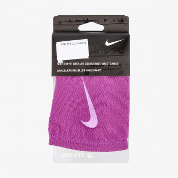 NIKE NIKE DRI-FIT STEALTH DOUBLEWIDE WRISTBAN