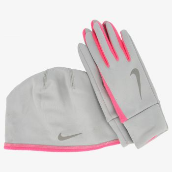 NIKE WOMEN'S NIKE RUN THERMAL HAT AND GLOVE S