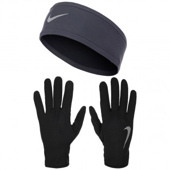 NIKE NIKE WOMEN'S RUN DRY HEADBAND AND GLOVE