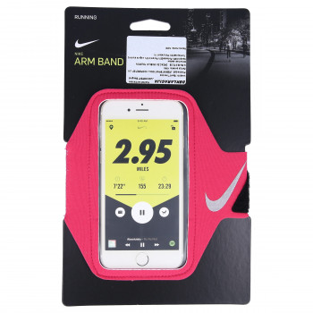 NIKE NIKE LEAN ARM BAND RUSH PINK/SILVER