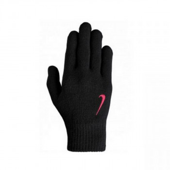 NIKE NIKE YA SWOOSH KNIT GLOVES S/M BLACK/BLA
