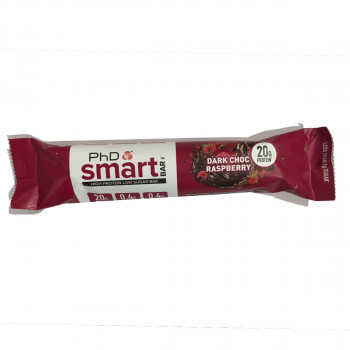 PHD NUTRITION Smart bar-Dark Chocolate/Raspberry 64g