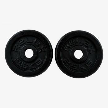 RING SPORT RX PL01-2.5 SET 2X2.5KG LIVENI