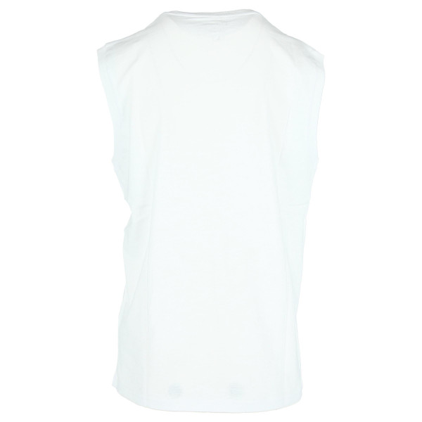 CHAMPION CROP LOGO SLEEVELESS T-SHIRT