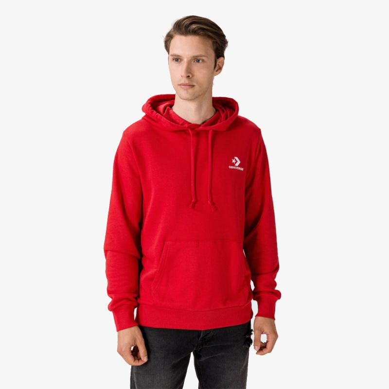 CONVERSE CONVERSE SC EMB PO HOODIE FT RED